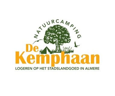 Logo natuurcamping de kemphaan